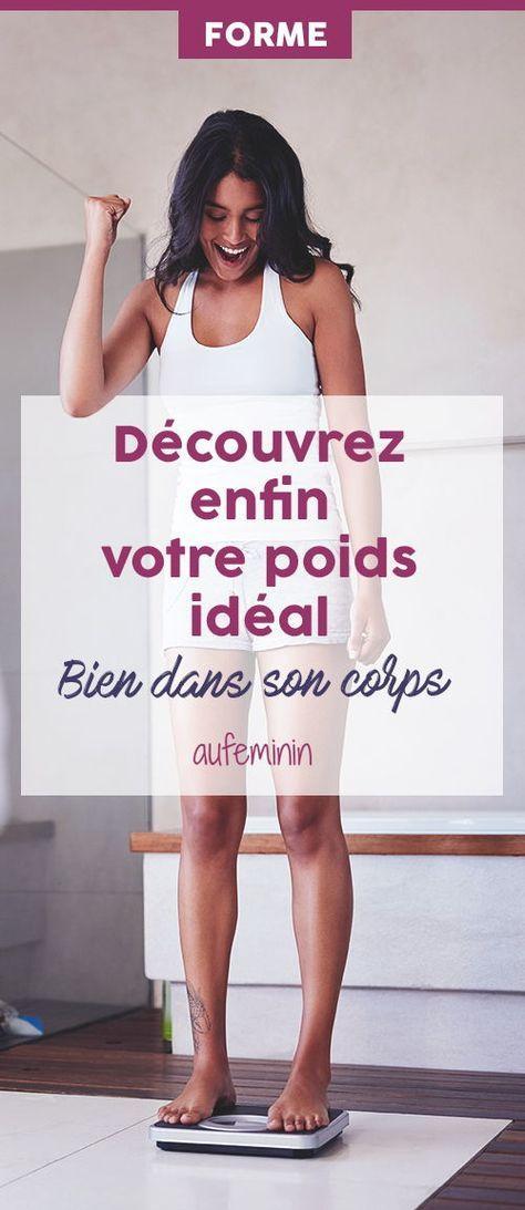 Découvrez quel est en fait votre poids idéal ? Car le principal est d'être bien dans son corps, moralement comme du point de vue de la santé. Rien de plus ! /// #aufeminin #mincir #minceur @poids #corps #bodypositive
