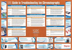Here's a wall guide to troubleshooting ion chromatography that helps you with solutions to problems that can affect your results!