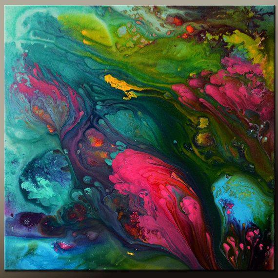 17 meilleures id es propos de peintures acryliques for Galerie art abstrait