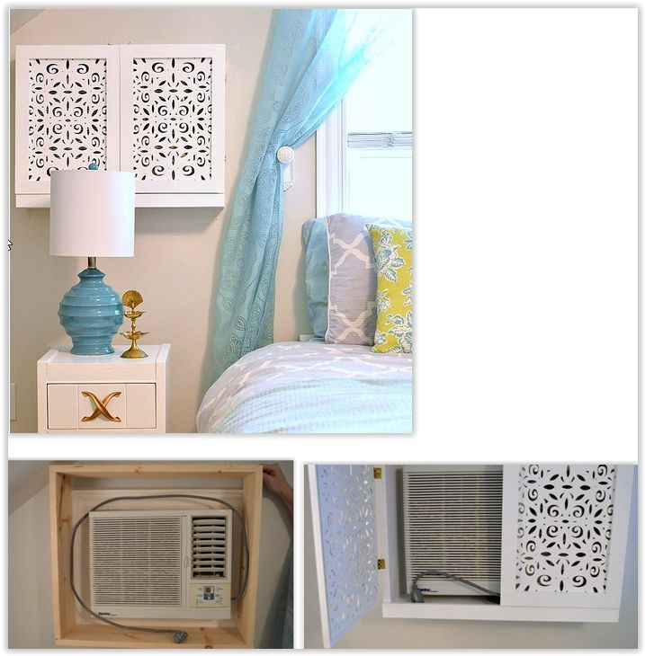 Decorative Cover For A Window Air Conditioner