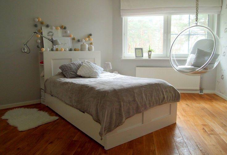 Pracownia Symetria _ Cotton Lightballs _ Bubble Chair _ Romantyczna Sypialnia