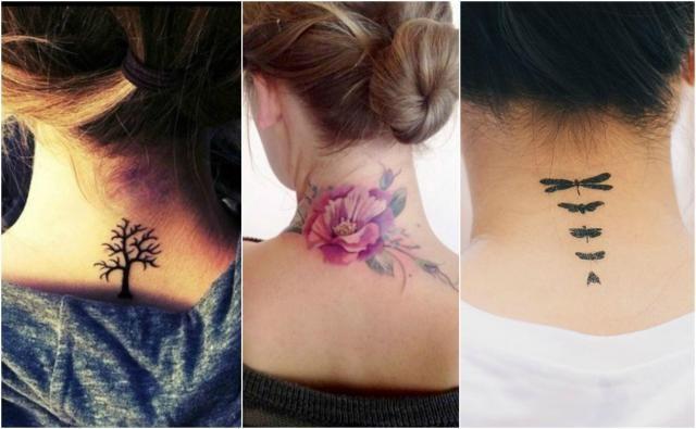 Tatuaże na karku - Który wybierasz?