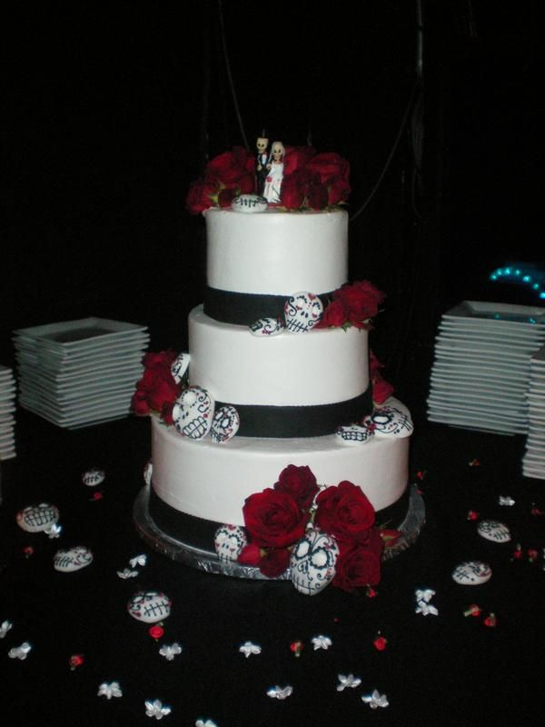 sugar skull wedding cake 17 best images about calaveras sugar skull wedding on 20588