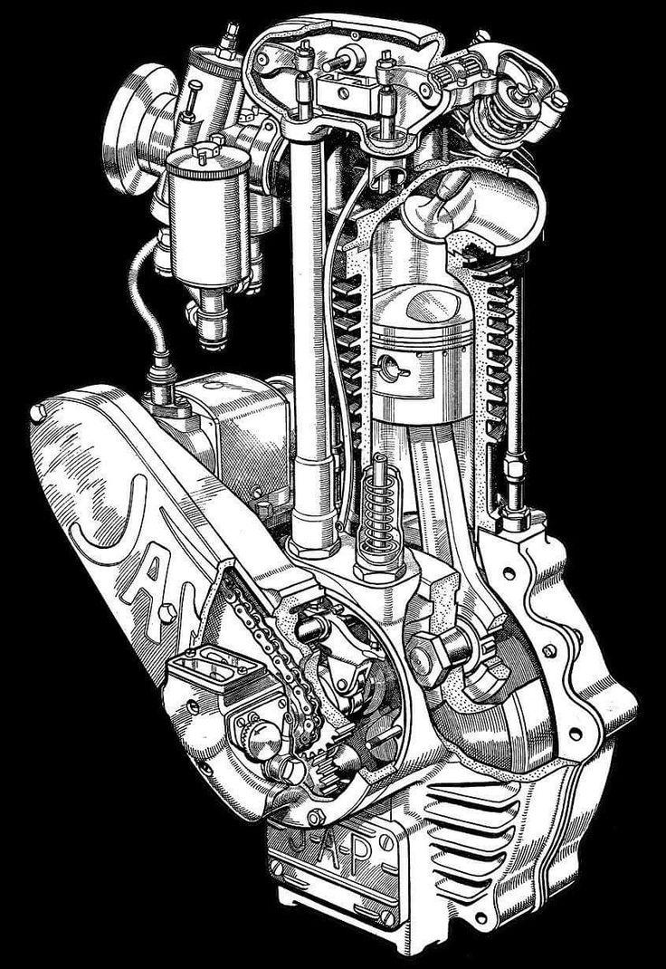 Vintage Life Bike Tools And Girl Speedway Motorcycles Vintage Motocross Bike Engine