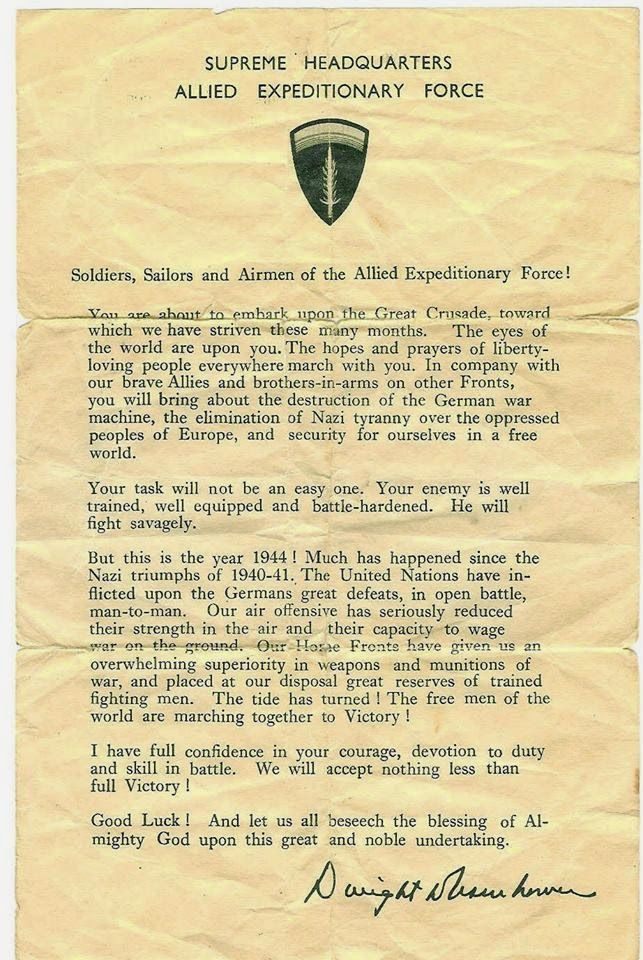 d-day notes