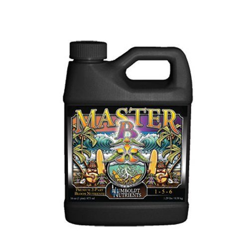 Humboldt Nutrients HMNB405 Master B Germination Kit, 32-Ounce by Humboldt Nutrients. $20.76. Professional 2-part premium nutrient program. Vigorous, non-toxic program for use on any plant. Maintains a lower overall salt index. Master b is 1-5-6 formulation. For use in any growing medium. We would all like to master something in our lifetime. If you are looking for a professional 2-Part Premium Base Nutrient Program that outperforms the competition, you're looking...