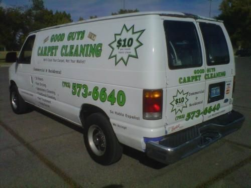 Ford E250 Carpet Cleaning Van with Prochem Legend truck mount - Image 1