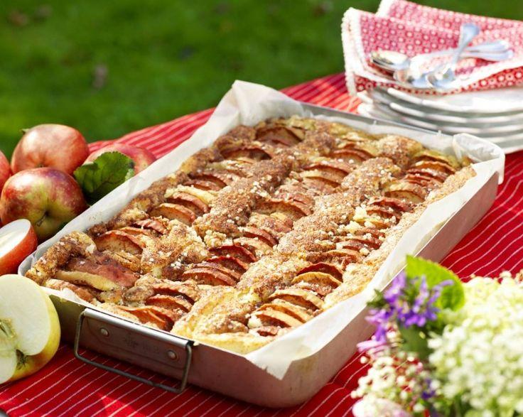Fru Bråttoms äppelkaka