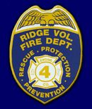 "Ridge Volunteer Fire Department, MD - ""Fightin' Four"" #patches #fire #setcom #Maryland #volunteer http://setcomcorp.com/900intercom.html"