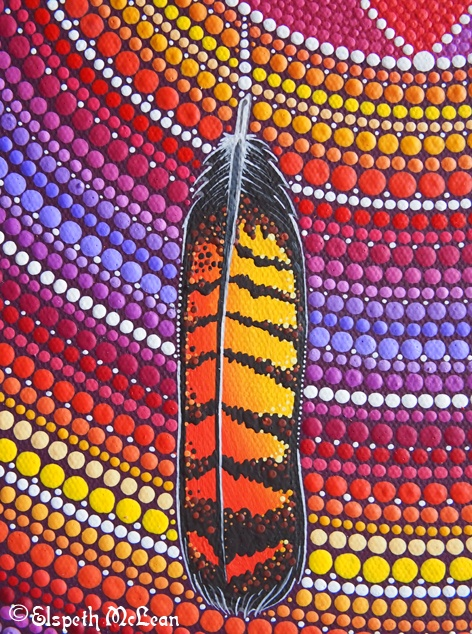 black cockatoo feather by Elspeth McLean #feather #totem