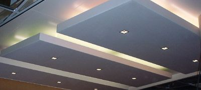 verlaagd plafond indirecte verlichting (novawall)