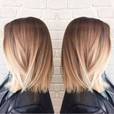 balayage medium straight hair - Google Search