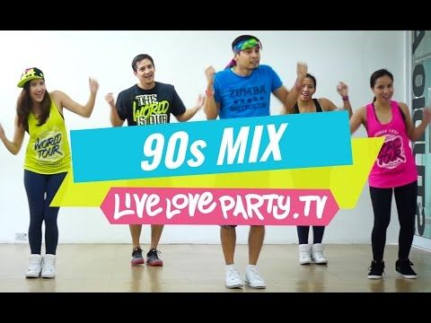 90s Mix [WATCH ON COMPUTER] | Zumba® | Live Love Party - YouTube