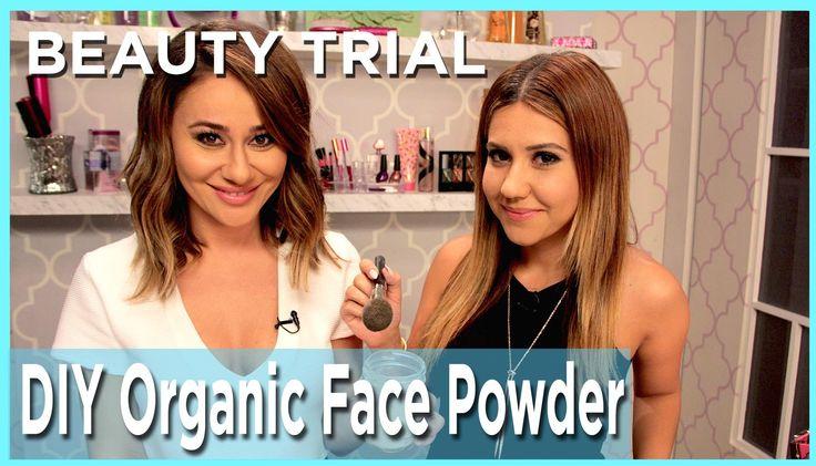 DIY Organic Face Powder #howto #makeup