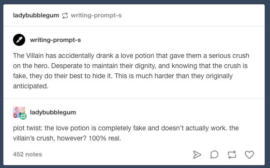 Love potion that only takes effect if the person has some feelings