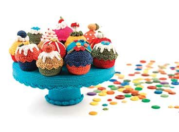 Cupcakes au crochet | Veritas BE