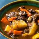 Beef Stew With Winter Root Vegetables - Again Vernors or Ginger Ale is a good sub for the beer.