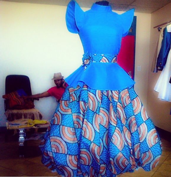 Nhlanhla Nciza ~African fashion, Ankara, kitenge, African women dresses, African…