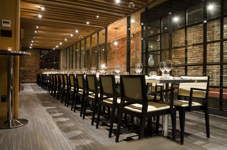L'Abatoir Restaurant Gastown  Private dining room