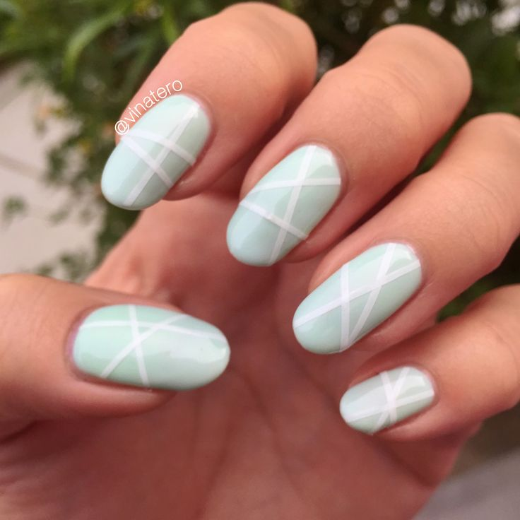 how to make fake nails with tape