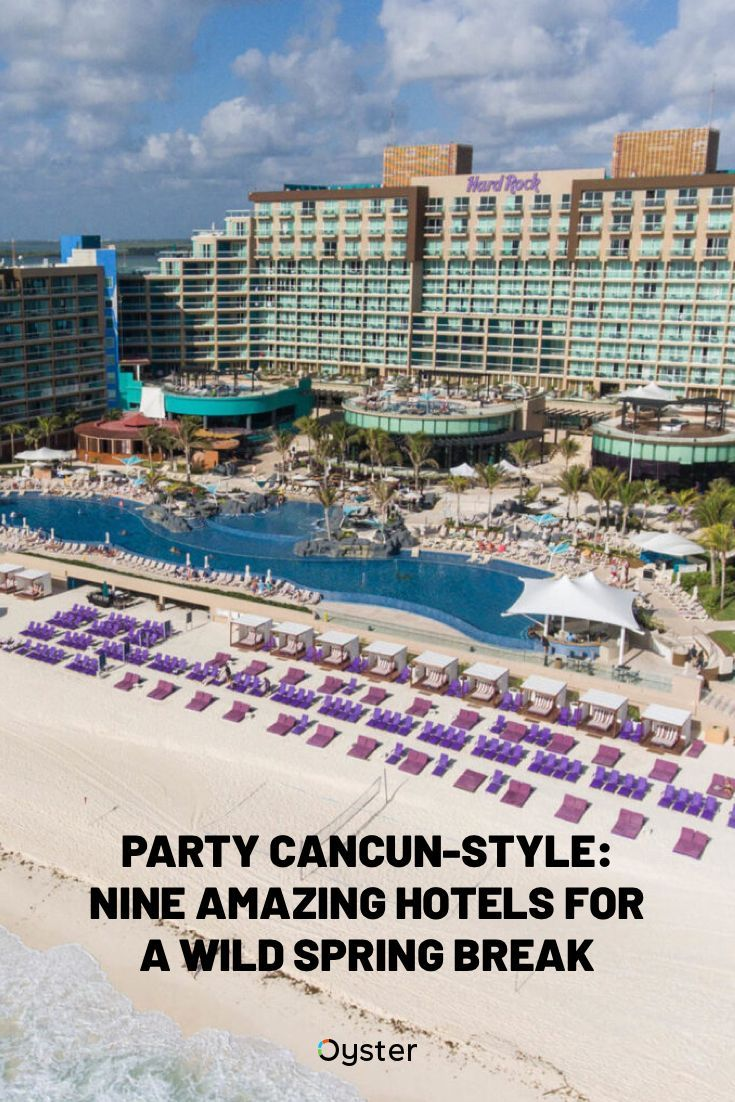 There Are Plenty Of Reasons Why Cancun Is One Of The Top Picks Among Spring Break Travelers Seeking Sun Spring Break Cancun Spring Break Cancun All Inclusive