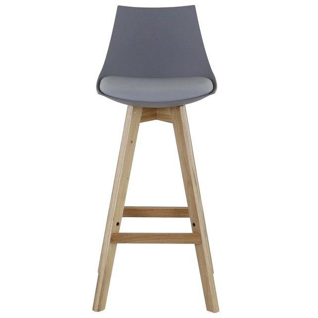 Chaise De Bar Et Pietement Chene Kim X2 Inwood La Redoute Chaise Bar Tabouret De Bar Mobilier De Bar