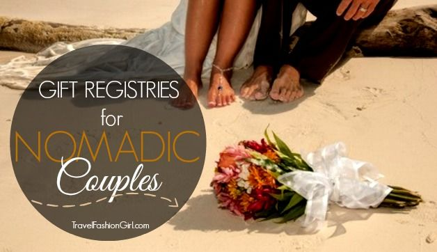 5 Online Wedding Registry Ideas for Nomadic Couples