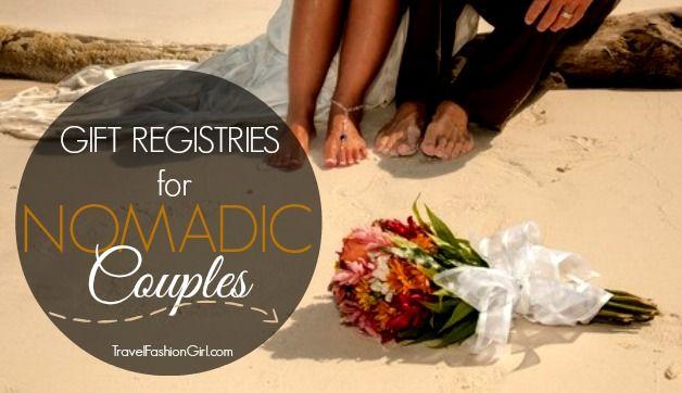 5 Online Wedding Registry Ideas for Nomadic Couples