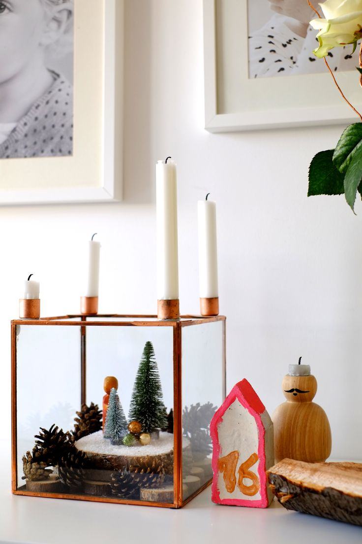 100 besten adventskranz aus kupfer wohnklamotte bilder. Black Bedroom Furniture Sets. Home Design Ideas