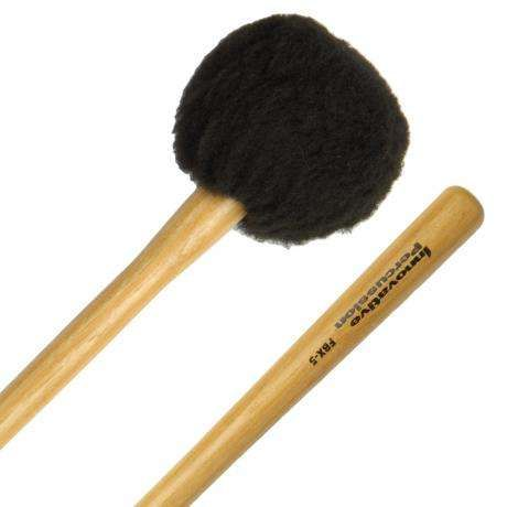 Innovative Percussion FBX-5S Field Series Tapered Handle Soft Marching Bass Drum Mallets