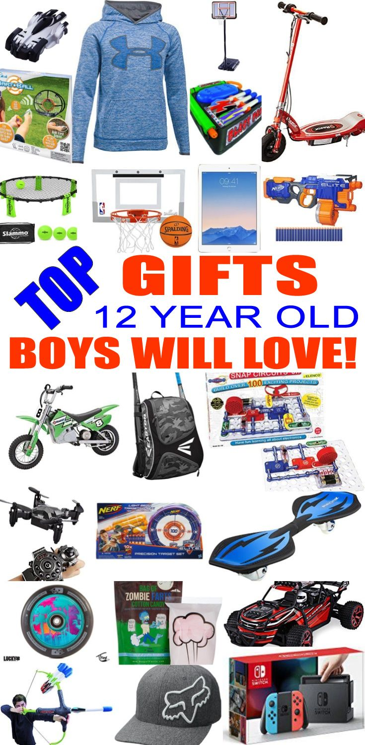 Top Gifts For 12 Year Old Boys Best Gift Suggestions Presents Twelfth Birthday Or Christmas Find The Ideas A 12th Bday
