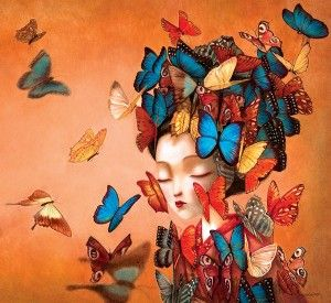 Madame Butterfly, Benjamin Lacombe