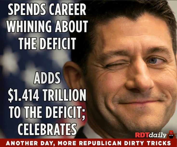 Actually the debt but same difference. Borrowed money on the backs of the 99%. He'll be stealing our PAID FOR BY US SOCIAL SECURITY & MEDICARE IN 2018 TO PAY FOR IT. PAUL RYAN IS WORSE THAN SCUM.