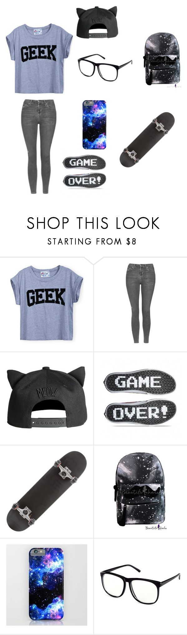 """Untitled #32"" by darksoul7 on Polyvore featuring Topshop and H&M"