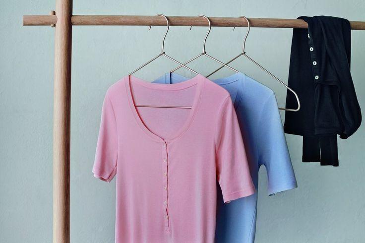 #Freizeit-Basics, die einfach immer passen! :) Schöne Schnitt & tolle Farben! #Oberbekleidung für #Damen: http://www.schiesser.com/oberbekleidung