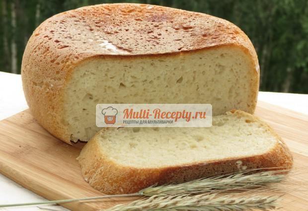 Хлеб на сметане в мультиварке