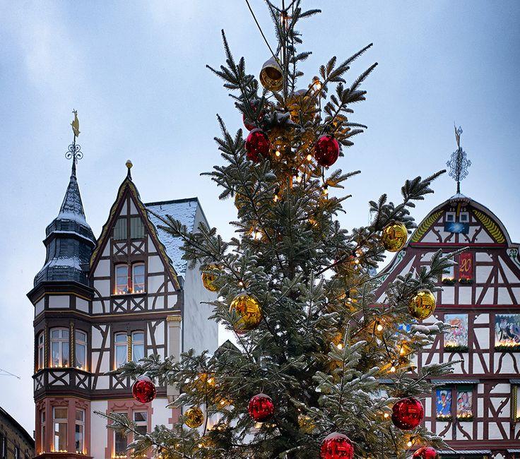 Weihnachtsmarkt in Bernkastel-Kues (Rheinland-Pfalz)