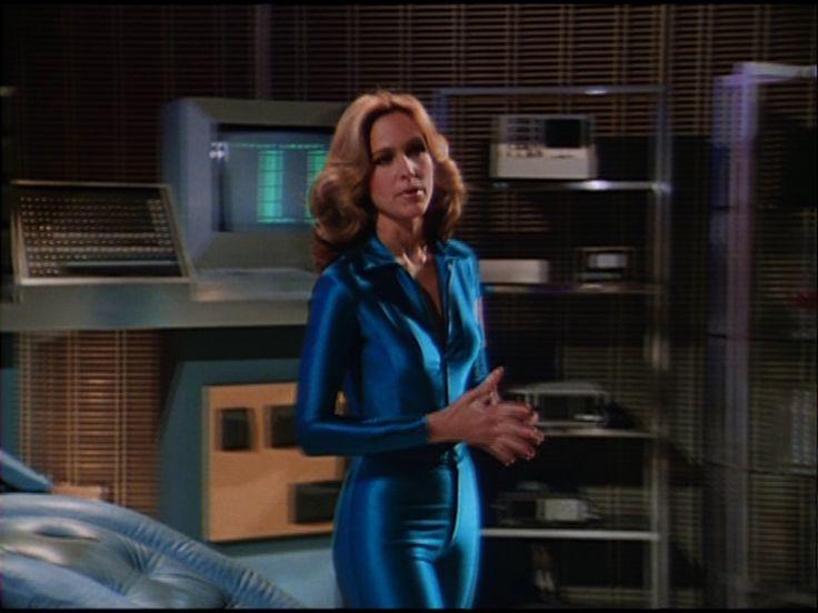 Chic Heroines - Erin Grey as Colonel Wilma Deering from