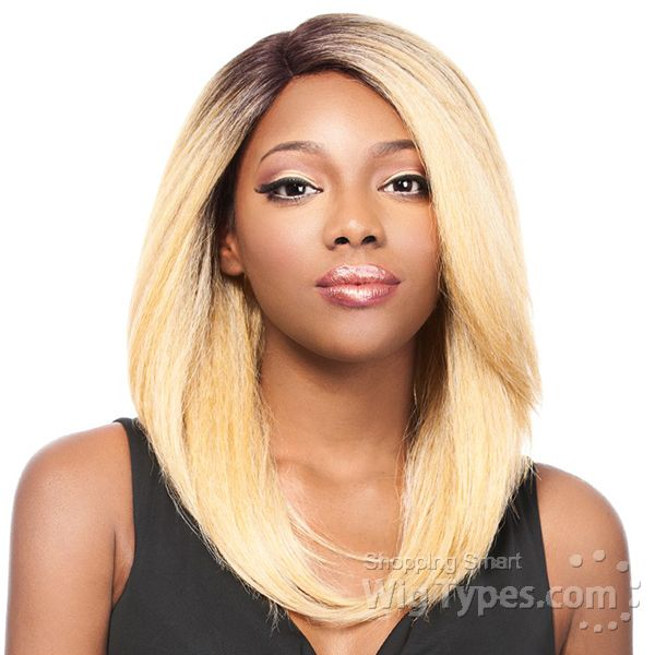It's A Lace Front Wig - Synthetic Iron Friendly Lace Front Wig - SWISS LACE KONIS (futura) [8951]