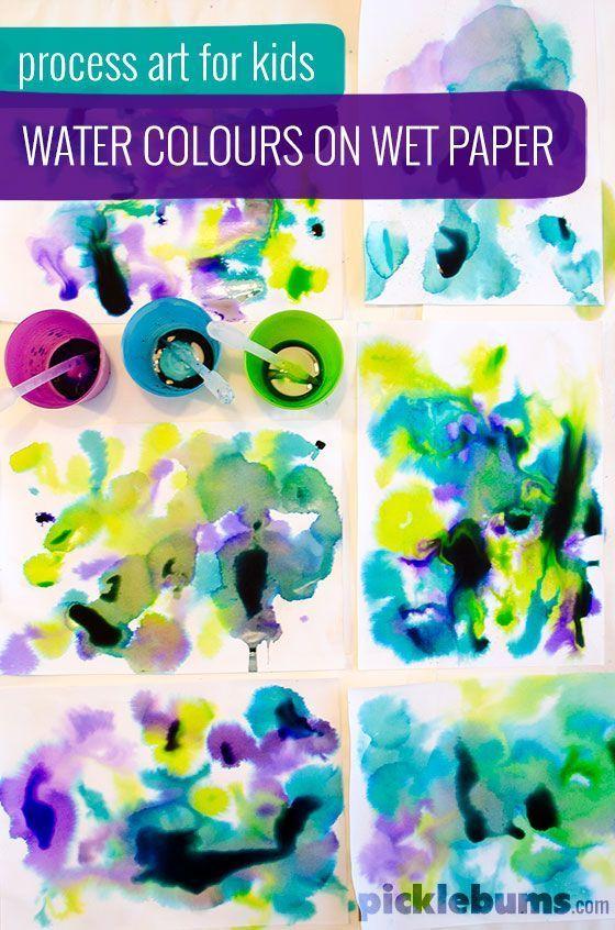 Color Art Ideas For Preschoolers : Best 25 montessori art ideas on pinterest play