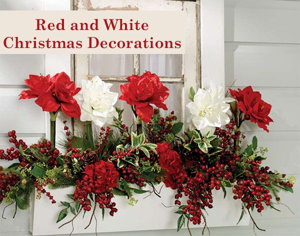 17 best images about christmas outdoor decorating ideas on for Amaryllis christmas decoration