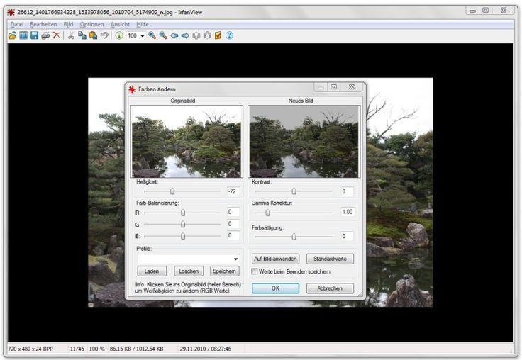 Screenshot 3 - IrfanView (64 Bit)