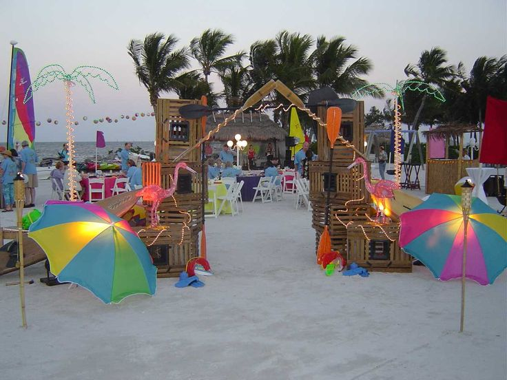 168 Best Party Beach Themed Images On Pinterest Luau