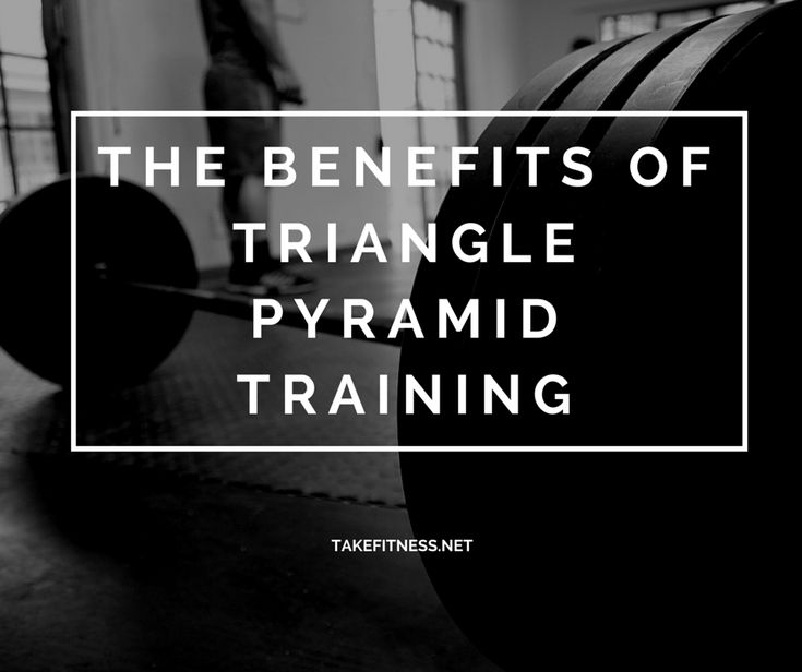 The Benefits of Triangle Pyramid Training
