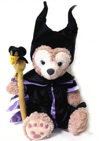 Amazon.co.jp | ダッフィー シェリーメイ ディズニー 眠れる森の美女 魔女 マレフィセント コスチューム 衣装 服 | ホビー 通販