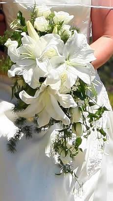Casablanca Brides Bouquet 87