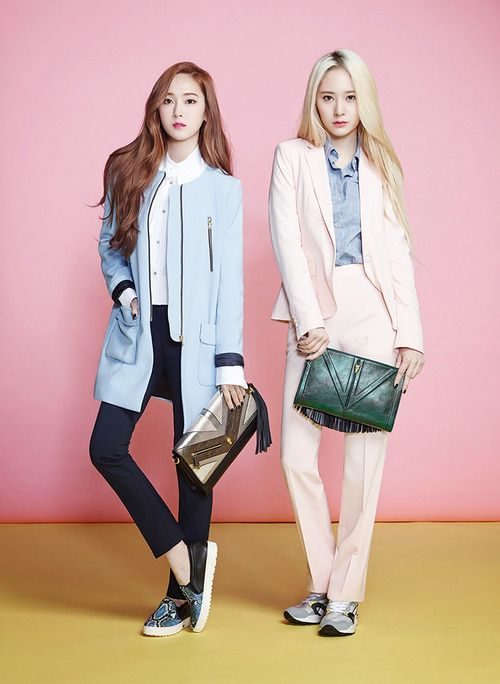 SNSD Jessica and f(x) Krystal - Lapalette S/S 2014
