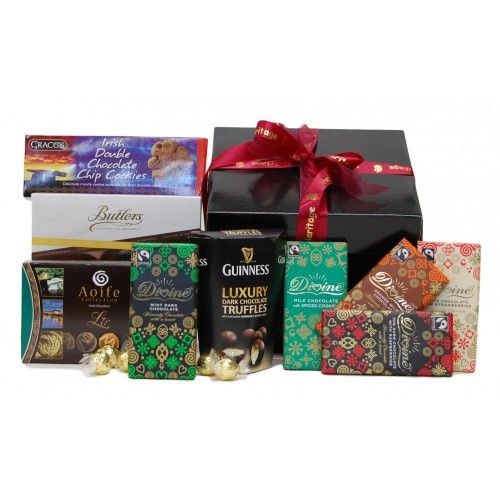 Chocolate Lovers Hamper. #Chocolate hamper, #Christmas hamper, #Christmas gift. http://www.heritagehampers.com/occasions/christmas-hampers---christmas-gifts-/chocolate-lovers-hamper