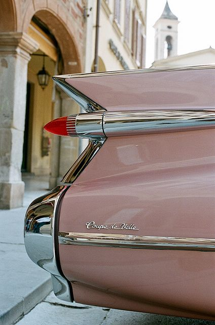 1959 Cadillac Coupe de Ville. This was my dad's favorite year of Cadillac. I miss him a lot.
