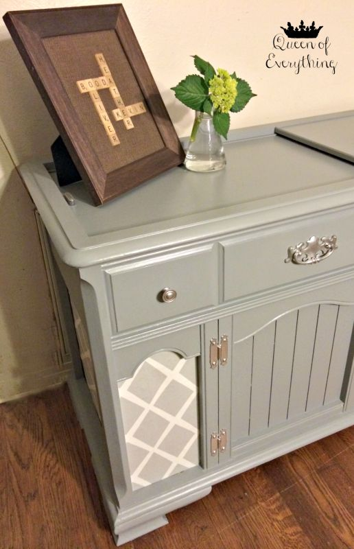 Antique Stereo Cabinet - Before & After. Antique Record PlayerRecord ... - 45 Best Refinished Record Cabinet Images On Pinterest Furniture